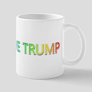 Peace Love Trump Mugs