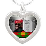 Ancestral Return Silver Heart Necklace