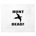 Hunt_dead_tan King Duvet