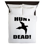 Hunt_dead_tan Queen Duvet