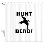 Hunt_Dead_Tan Shower Curtain