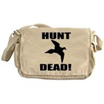 Hunt_Dead_Tan Messenger Bag
