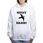 Hunt_Dead_Tan Women's Hooded Sweatshirt