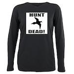 Hunt_Dead_Tan Plus Size Long Sleeve Tee