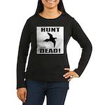 Hunt_Dead_Tan Long Sleeve T-Shirt