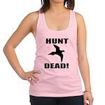 Hunt_Dead_Tan Racerback Tank Top