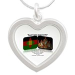 Royal Legacy Silver Heart Necklace Necklaces