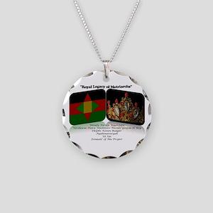 Royal Legacy Necklace Circle Charm