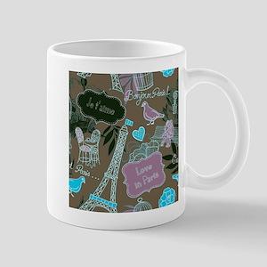 Love in Paris Mugs