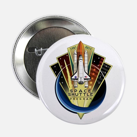"""Shuttle Commemorative 2.25"""" Button"""