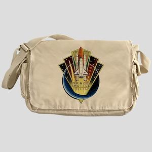 Shuttle Commemorative Messenger Bag