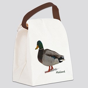 Mallard Duck Canvas Lunch Bag