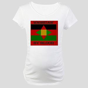 Washitaw by Blood Maternity T-Shirt