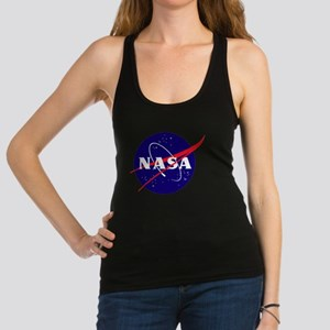NASA Meatball Logo Racerback Tank Top