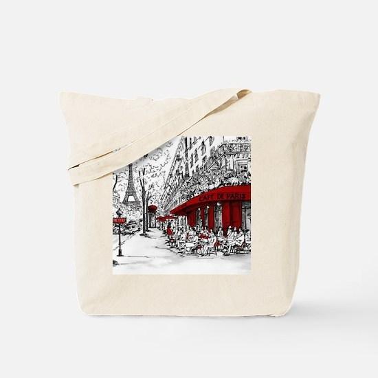 Unique France Tote Bag