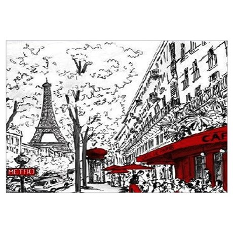 Beau Unique Paris Wall Art
