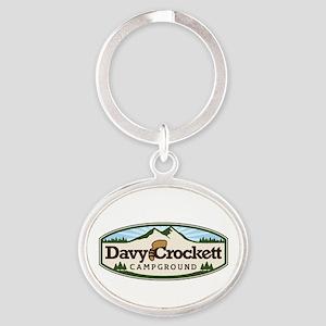 Davy Crockett Campground Keychains