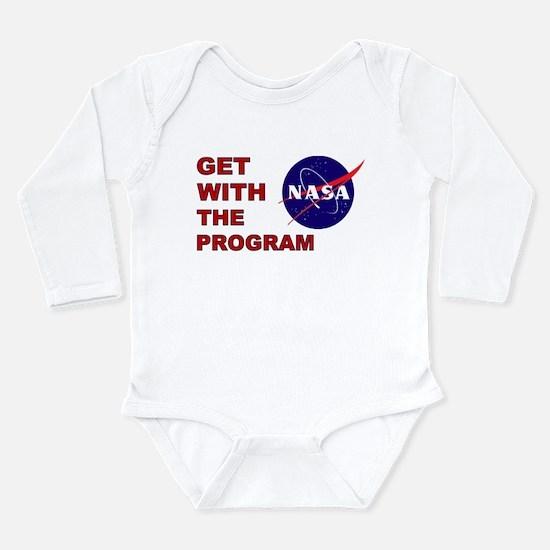 Program Logo Long Sleeve Infant Bodysuit