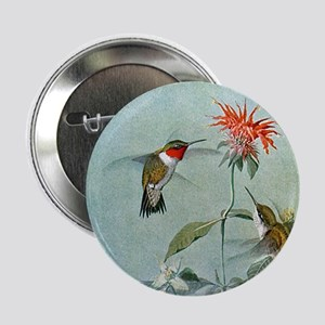 "Hummingbirds 2.25"" Button"