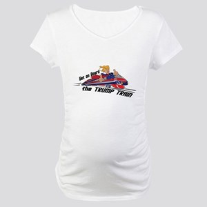 The TRUMP TRAIN | Donald Trump Maternity T-Shirt