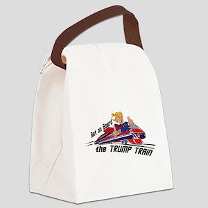 The TRUMP TRAIN | Donald Trump Canvas Lunch Bag