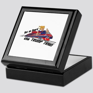 The TRUMP TRAIN | Donald Trump Keepsake Box