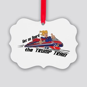 The TRUMP TRAIN | Donald Trump Picture Ornament