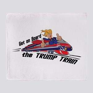 The TRUMP TRAIN | Donald Trump Throw Blanket