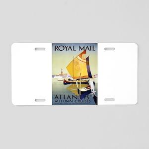 Vintage poster - Atlantis Aluminum License Plate