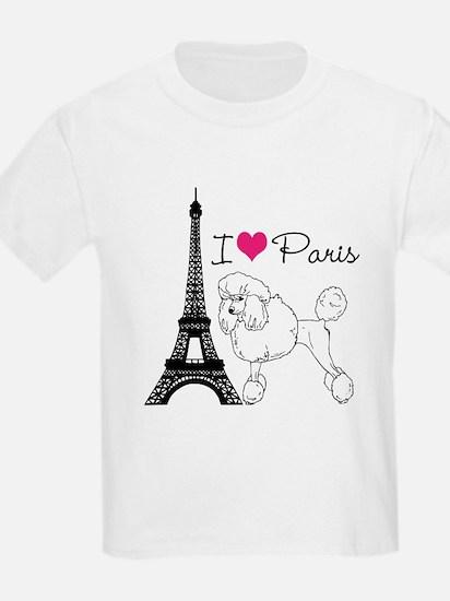 Funny Paris dog T-Shirt