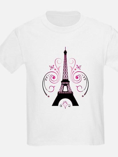 Unique Paris girl T-Shirt