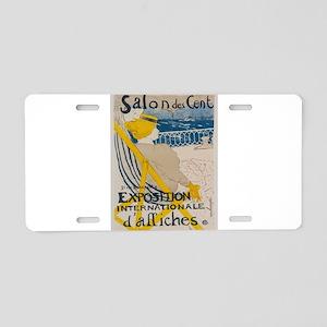Vintage poster - Salon des Aluminum License Plate