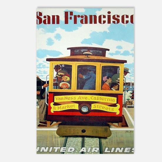 Cute California car Postcards (Package of 8)