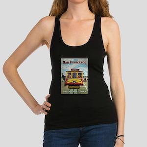 Vintage poster - San Francisco Racerback Tank Top