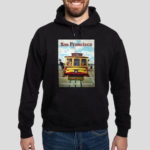 Vintage poster - San Francisco Hoodie (dark)