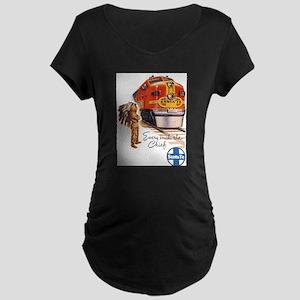 Vintage poster - Santa Fe Maternity T-Shirt