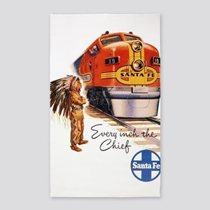 Vintage poster - Santa Fe Area Rug