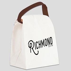 Richmond Virginia Canvas Lunch Bag