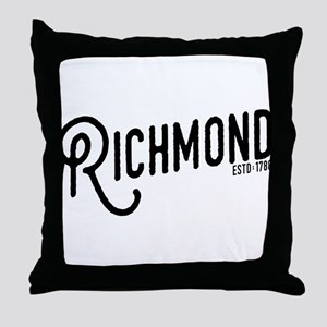 Richmond Virginia Throw Pillow