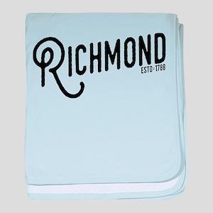 Richmond Virginia baby blanket