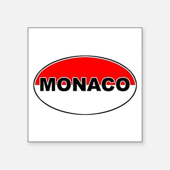 "Cute Mediterranean countries Square Sticker 3"" x 3"""