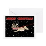 Pug Christmas Cards (Pk of 10 blank)
