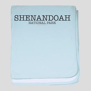 Shenandoah National Park SNP baby blanket