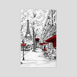 Cafe De Paris Area Rug