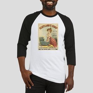 Vintage poster - Scotland's Soap Baseball Jersey