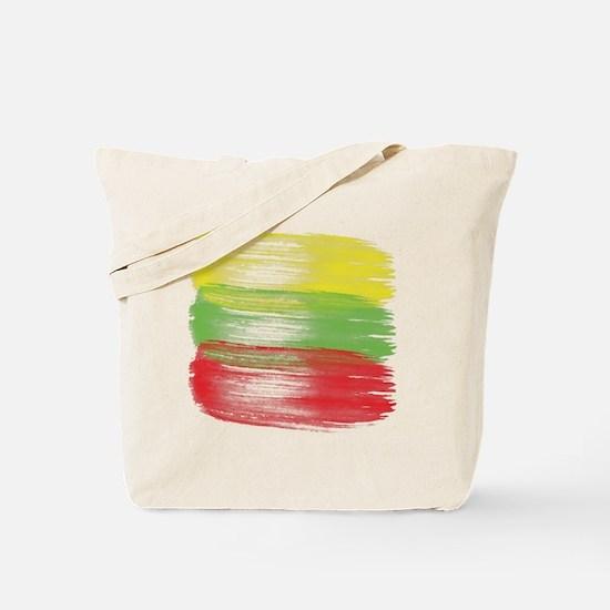 Unique Lithuanian flag Tote Bag