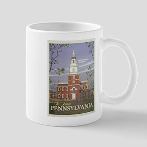 Vintage poster - Pennsylvania Mugs