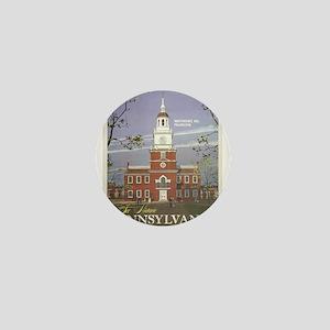 Vintage poster - Pennsylvania Mini Button