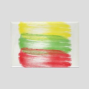 lithuania flag lithuanian Magnets
