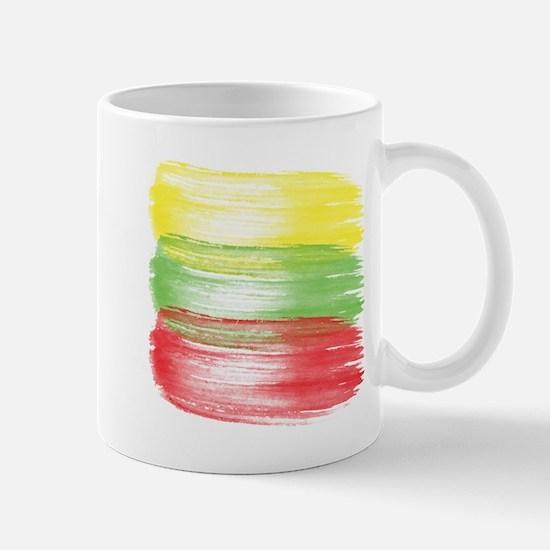 lithuania flag lithuanian Mugs